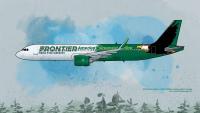 フロンティア航空、22年導入A320neoからP&Wエンジンを採用の画像