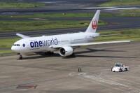 JAL、777-200ER「JA706J」 ヴィクターヴィルに到着の画像