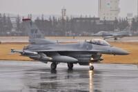 ニュース画像:横田基地、1月28日に35FWのF-16戦闘機が飛来