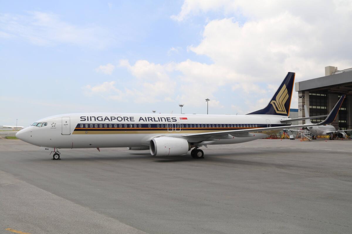 ニュース画像 1枚目:シンガポール航空 737-800