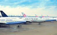 ニュース画像:チャイナエアライン、747-400富士山遊覧チャーター 日程延期