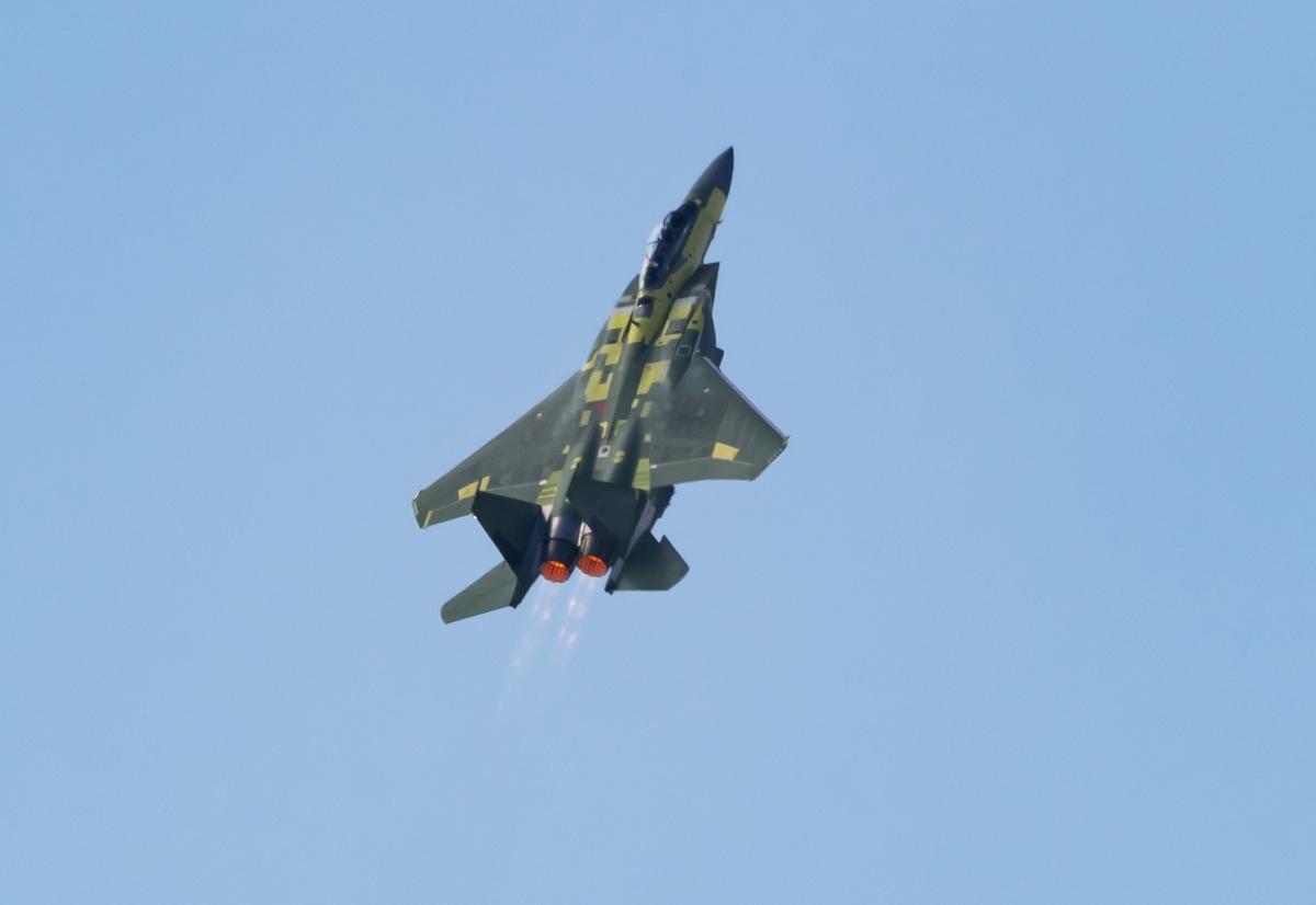 ニュース画像 1枚目:F-15EXの初飛行