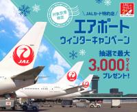 ニュース画像:JALカード、国内5空港で買い物キャンペーン 最大3,000マイル
