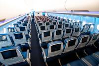 ニュース画像:デルタ航空、中央座席のブロック 4月末まで延長