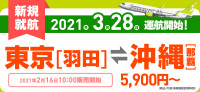 ニュース画像:ソラシドエア、羽田/那覇線で就航記念運賃 5,900円