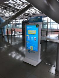 ニュース画像:関空、モバイルバッテリーサービス「ChargeSPOT」設置