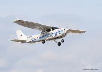 ニュース画像:運輸安全委員会、海保セスナ172S着陸時の滑走路接触を調査