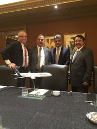 ニュース画像:ガルフ・エア、エアバスと50機の導入で議論
