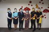 ニュース画像:シンガポール航空グループ3社、ワクチン接種済みの乗員で運航 世界初