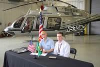 ニュース画像:ベルヘリコプター、ブラジルで初めてのBell 407GXPを納入