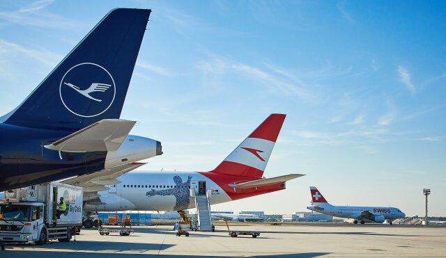 ニュース画像 1枚目:ルフトハンザ・グループの航空会社イメージ
