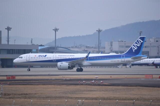 ニュース画像 1枚目:東日本大震災以来、羽田/仙台線を運航したANA、画像はA321neo (kumagorouさん撮影)