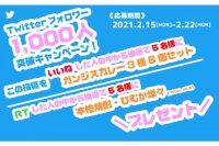 ニュース画像:宮崎空港、Twitterフォロワー1,000人突破キャンペーン