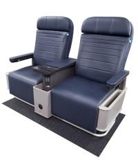 ニュース画像:ユナイテッド航空、ナローボディ200機超のファーストクラスに新シート