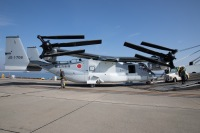 ニュース画像:陸自オスプレイ、岩国に5機陸揚げ 3月上旬にも木更津へ