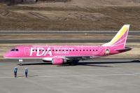 ニュース画像 2枚目:福島空港でのフジドリームエアラインズ (ドリさん撮影)