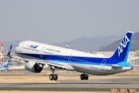 ニュース画像:ANA、A321neo「JA149A」受領 2月18日に羽田到着