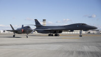 ニュース画像:B-1Bランサー、岩国基地に初着陸 12月に