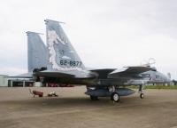 ニュース画像:小松基地航空祭、2015年のF-15航空祭記念塗装機を2機とも公開