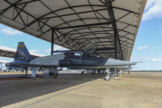 ニュース画像 1枚目:コロンバス空軍基地でのT-38タロン