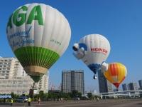 ニュース画像:熱気球イベント、係留体験の参加者募集 3月末に東京臨海広域防災公園で