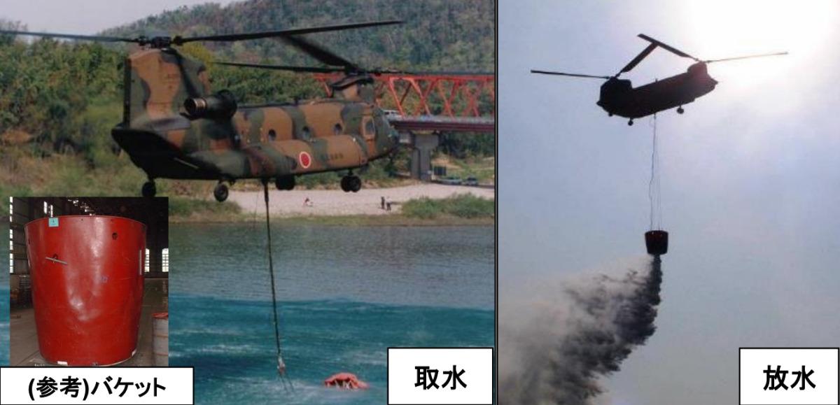 ニュース画像 1枚目:陸自CH-47Jの活動イメージ