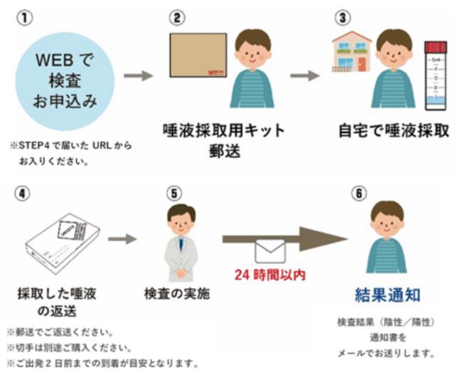 ニュース画像 1枚目:JAL国内線PCR検査サービス