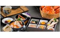 ニュース画像:鳥取直送カニ、バンコクのタイ航空機内食レストランで弁当販売