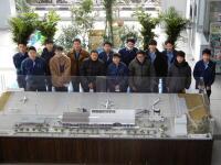 ニュース画像:福島空港、地元高校生がターミナル室内緑化 癒やしの空間に