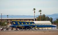 ニュース画像 3枚目:2021年シーズンにあわせ機種更新されたF/A-18スーパーホーネット「ブルーエンジェルス」