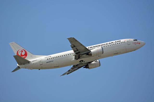 ニュース画像 1枚目:日本トランスオーシャン航空で活躍していた時代の「JA8993」 (ktaroさん撮影)