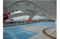 ニュース画像:佐賀県ドクターヘリ、機体テール下部付属アンテナを飛行中に欠落