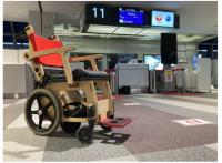 ニュース画像:JAL、那覇空港でも「車いす電動アシストユニット」試験導入