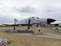 ニュース画像:茨城空港、展示機F-4ファントムをライトアップ 3月末まで