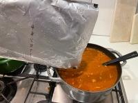 ニュース画像 4枚目:3kgのカレー、鍋に一杯一杯でした。数日カレーが続いてしまうのか?