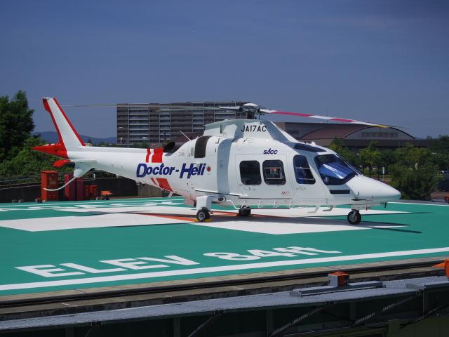 ニュース画像 1枚目:静岡エアコミュータが運航するドクターヘリ イメージ(bannigsさん撮影)