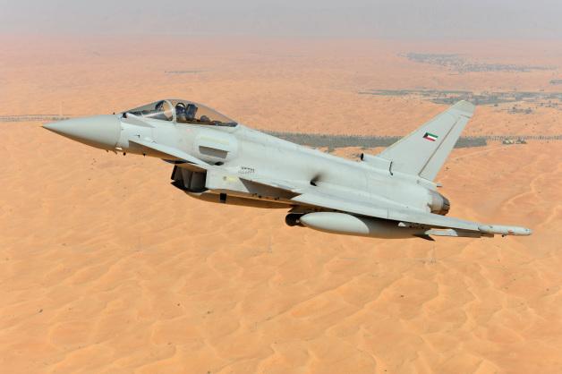 ニュース画像 1枚目:クウェート空軍マーキングのタイフーン