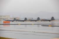 ニュース画像:アメリカ空軍F-22ラプター、岩国基地に飛来 海兵隊と訓練へ