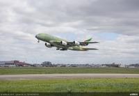 ニュース画像 2枚目:最後に製造されたA380の初離陸