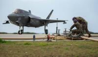 ニュース画像 2枚目:伊江島の短距離滑走路での離着陸を確認したF-35BライトニングII