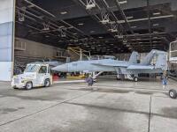 ニュース画像:電子戦機EA-18Gグラウラー、F/A-18FブロックIII相当に改修