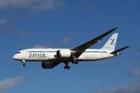 ニュース画像:ZIPAIR、7~10月搭乗分の成田/ソウル・バンコク線 航空券発売