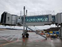 ニュース画像:秋田空港、国内線搭乗橋を更新