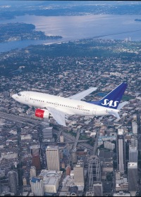 ニュース画像:SAS、全席ビジネスの737をニューアーク線に投入 座席仕様も変更へ