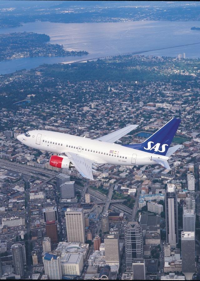 ニュース画像 1枚目:スカンジナビア航空の737