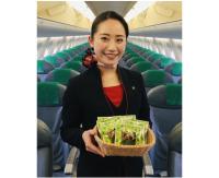 ニュース画像:FDA、期間限定お菓子配布サービス 静岡・青森・花巻行き一部便で