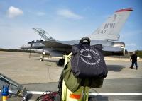 ニュース画像:35FWのF-16、三沢で技量維持のデモフライト 3月31日