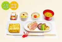 ニュース画像:JAL、4月国内線ファースト機内食 仙台黒毛和牛など東北の味