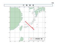 ニュース画像 2枚目:Y-9「82014」の飛行経路、2021年4月4日