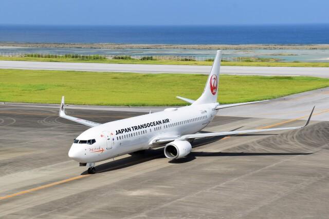 ニュース画像 1枚目:日本トランスオーシャン航空 737-800型機イメージ(こじゆきさん撮影)